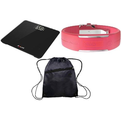 Polar Balance Black and Loop 2 Pink Ultimate Health Kit by Polar