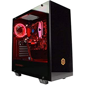 CyberpowerPC Warrior Gaming PC – Intel Core i7-9700F, Nvidia RTX 2070 Super 8GB, 16GB RAM, 960GB SSD, 650W 80+ PSU, Wifi…