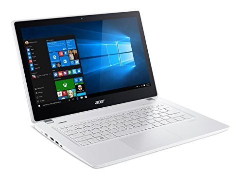 Acer-Aspire-V-13-133-inch-Full-HD-Touchscreen-Notebook-Intel-Core-i5-6200u-23Ghz-6GB-Memory-256GB-SSD-Platinum-White-Windows-10Certified-Refurbished