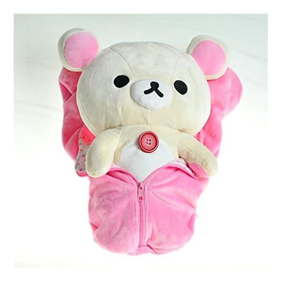 Korilakkuma Sleeping Bag Plush | Pink 2