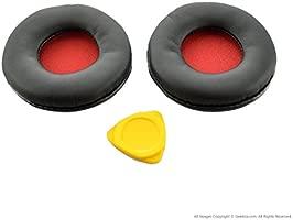 Sony MDR-ZX600 Auriculares de repuesto para Pad/Cojín/Oreja tazas/Oreja Malla Cover/almohadillas Repair Parts (Rojo)