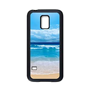 Samsung Galaxy S5 Mini Case,Blue Beach High Definition Wonderful Design Cover With Hign Quality Rubber Plastic Protection Case