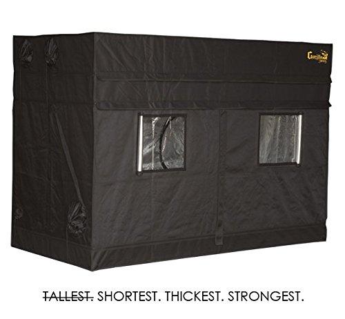 "41blHLiJDfL - 4'x8' Gorilla Grow Tent SHORTY w/ 9"" Extension Kit"