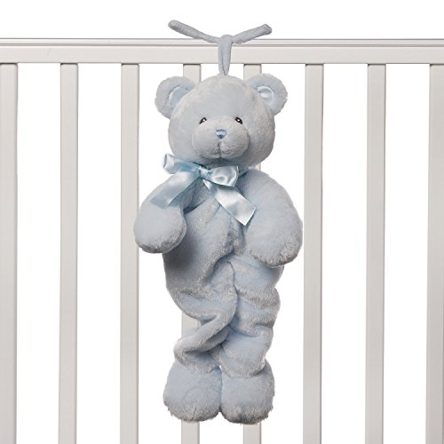 - Baby GUND My First Teddy Bear Stuffed Animal Plush Pulllstring Musical Toy, Blue, 13