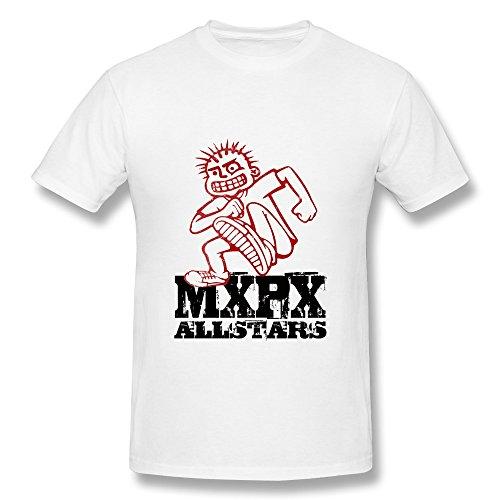 RZF Men's Mxpx All Stars T-Shirt-M White