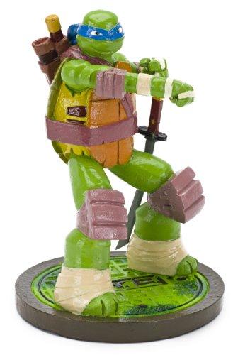 - Penn Plax Teenage Mutant Ninja Turtles Leonardo Aquarium Ornament, Mini
