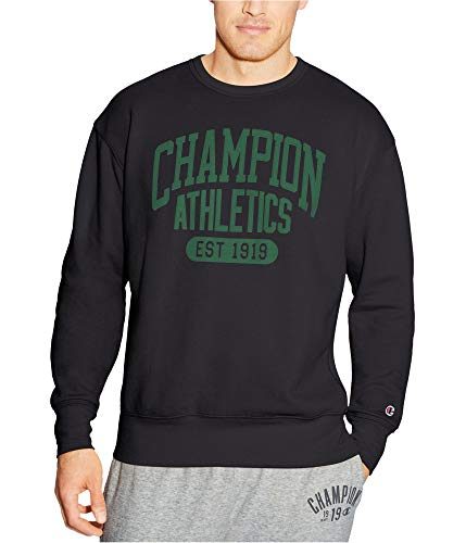 - Champion Men's Heritage Fleece Sweatshirt, Grey Scarf/Umbrella Arch, 2X-Large