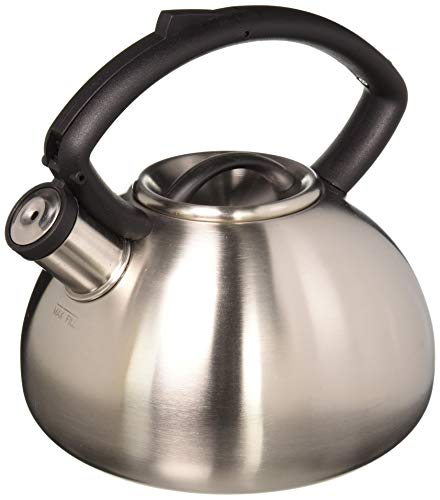 Copco 2503-9712 Valencia Brushed Stainless Steel Tea Kettle,