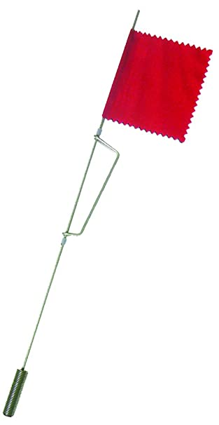 amazon com beaver dam tip up replacement flag and rod assembly