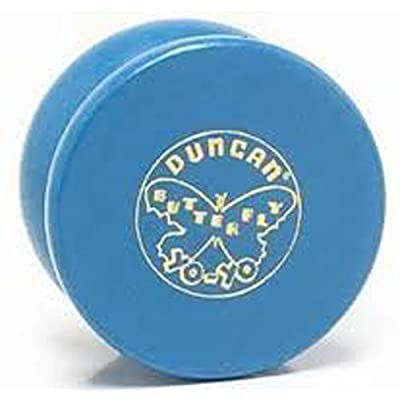 Duncan Vintage Wood Replica Butterfly Yo-Yo - Blue: Toys & Games