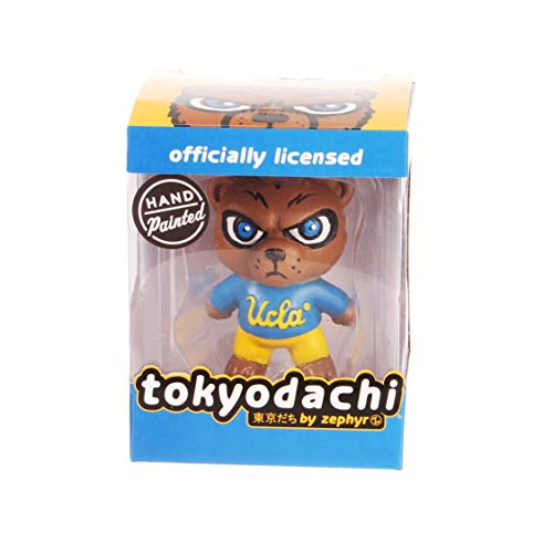 (Zephyr NCAA UCLA Bruins Unisex Tokyodachi CollectibleTokyodachi Collectible, Light Blue, 3 inch)
