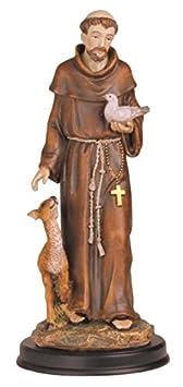 StealStreet SS-G-212.05 Saint Francis Holy Figurine Religious Decoration Statue Decor, 12