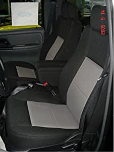 Amazon Com Durafit Seat Covers F282 Black Gray Ford