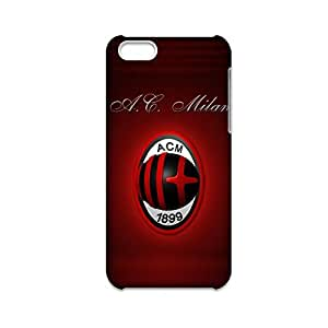 Generic Protection Phone Cases For Child Printing With Ac Milan For Iphone 5C Full Body Choose Design 1-10