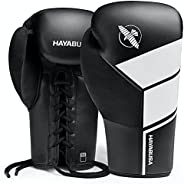 Hayabusa S4 Lace Up Boxing Gloves for Men and Women