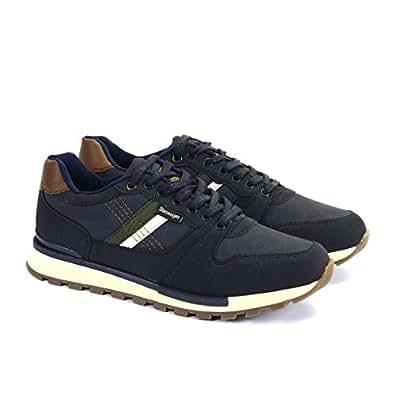 Erkek Slazenger Milka Spor Ayakkabı, Lacivert, 40
