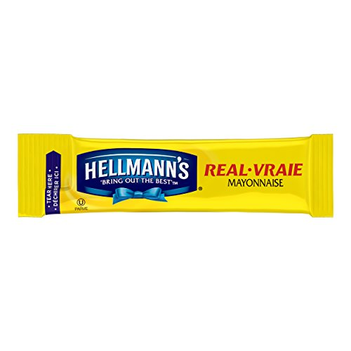 Hellmann's Mayonnaise Stick Packets Real 0.38 oz, 210ct (Food Packets)