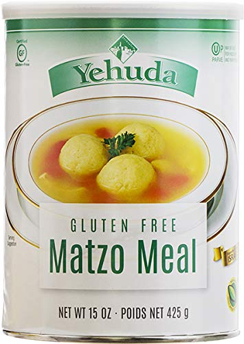 Yehuda Gluten Free Matzo Meal, 15 Ounce (Pack of 2) by Yehuda