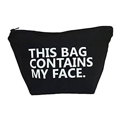 This Bag Contains My Face Toiletry Bag-Travel Kit-Cosmetic Makeup Case