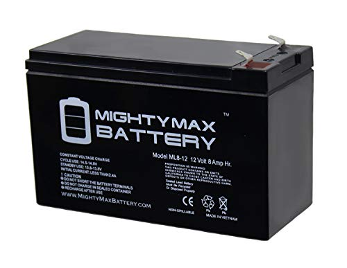 Mighty Max Battery 12V 8Ah SLA Battery for Razor MX350, MX400 Electric Dirt Bike Brand Product