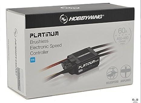 Hobbywing Platinum Pro 60A V4 Premium Aircraft ESC HWI30215100