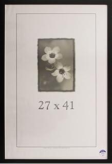 27x41 simply poly poster frame black