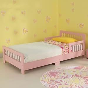 KidKraft Slatted Toddler Bed - Pink