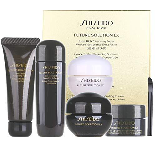 Shiseido FUTURE SOLUTION LX Foam+Softener+day cream+night cr