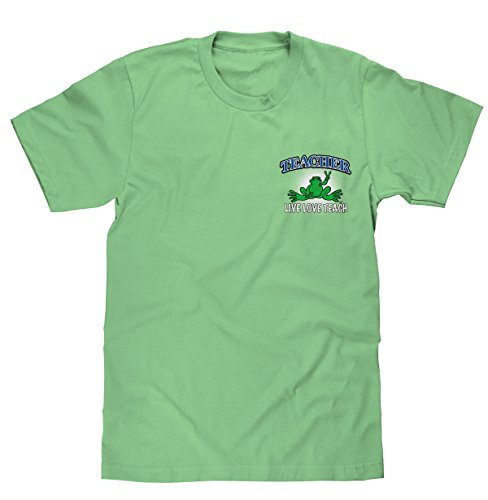 peace-frogs-teacher-short-sleeve-licensed-t-shirt-x-large