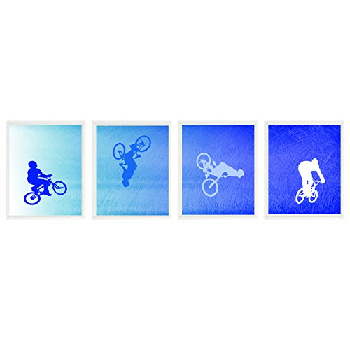 Amazon BMX Bike Art Boy Bedroom Teenage Room