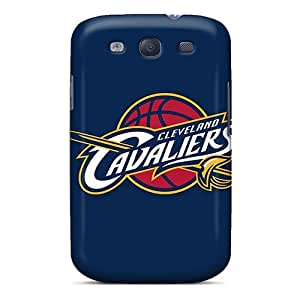 Durable Protector Cases Covers With Nba Cleveland Cavaliers Hot Design For Galaxy S3