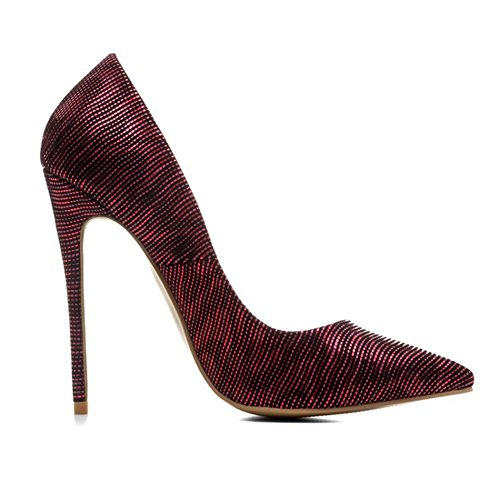 Travail Pompes Intelligent Fermé Or Haute Taille RED Talons NVXIE Femmes Chaussures Robe 35 EUR43UK12 43 Doigt Pied Sexy Stylet Pointu de 7Cw7xAOq