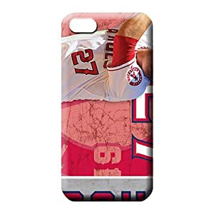 iphone 6plus 6p First-class Slim Fit trendy phone covers los angeles angels mlb baseball