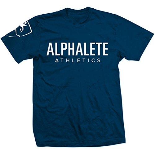 Mailiw Mens Activewear Slim Fit Exercise Logo Printed Basic Athletic Fitness O Neck Short Sleeve Strechy Cotton T Shirt