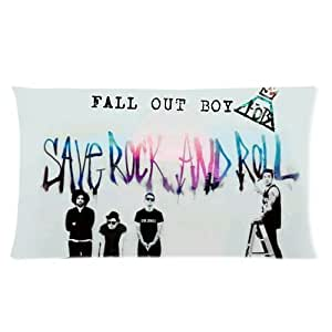 Generic Personalized Chicago Rock Band Fall Out Boy Fob Graffiti Style Sold By Too Amazing Rectangle Pillowcase 20x36 (one side)