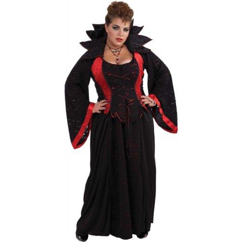 Woman's Vampiress Costume, Multi-Colored, 3X-Large -