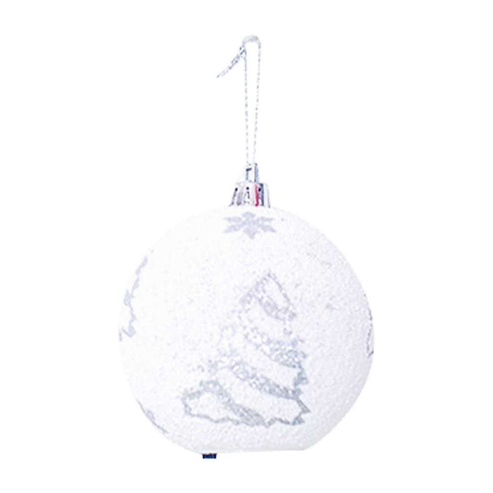 Christmas Ball Ornaments LED Ball Light Chrismas Xmas Tree Hanging Ornament Garden Party Decors