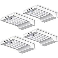 InnoGear 24 LED Solar Lights Motion Sensor Wall Light...