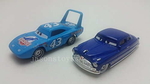 - Car Toys Pixar 1:55 Scale Diecast King & Doc Hudson Metal Metal Toy and Car Collectors