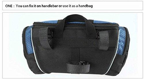 ROSWHEEL 5L Fahrrad Lenkertasche Fahrrad Front Tube Tasche Schulter Pack Reiten Radfahren Supplies
