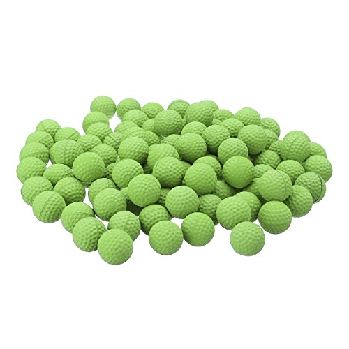 Stave Nut Round Replace Ball Amusement Park - 50pcs Green Round Replace Ball Rival Apollo Zeus Toy - Ball-Shaped Lash Out Brush Globose One Shot Glob Daily Ring Testis Rung Clod