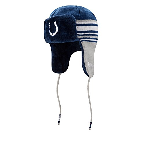 e76f1baf95a Indianapolis Colts Fur Lined Knit Hat – Football Theme Hats