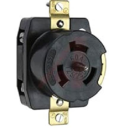 P & S CS6369 California Standard Receptacle, 4-Wire Grounding, 50A
