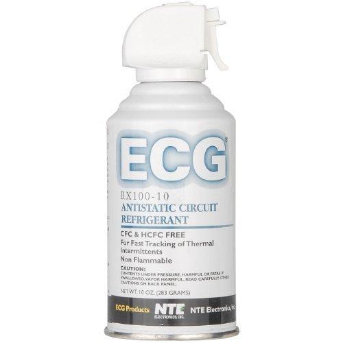 ECG RX100-10 Antistatic Circuit Refrigerant, 10 oz. Aerosol