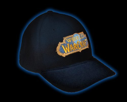 Hat Cap Small (World of Warcraft Flexfit Baseball Cap (Small / Medium))