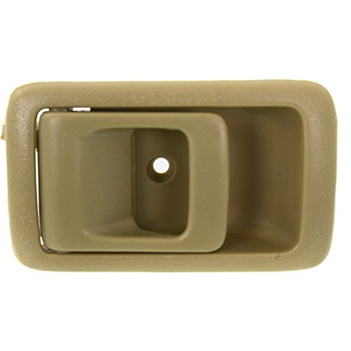 Interior Door Handle Compatible with Toyota Camry 87-91/Toyota 4Runner 96-02/Tacoma 01-04 Front OR Rear LH Inside Beige 91 Lh Interior Door Handle
