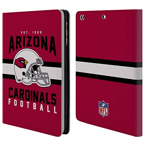 Official NFL Helmet Typography 2018/19 Arizona Cardinals Leather Book Wallet Case Cover for iPad Mini 1 / Mini 2 / Mini 3