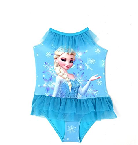 Frozen Queen Elsa Little Girls 1 Piece Swimsuit