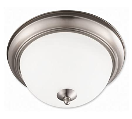 Good Earth Lighting Taverna Direct Wire Semi-Flush Light Brushed Nickel Inc G4813-BN-I