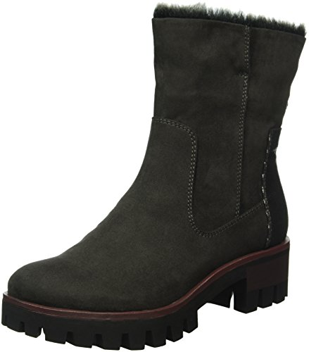 Ankle 268 Grey 25405 Women''s anthrac Tamaris Boots plat anBZgAqqw